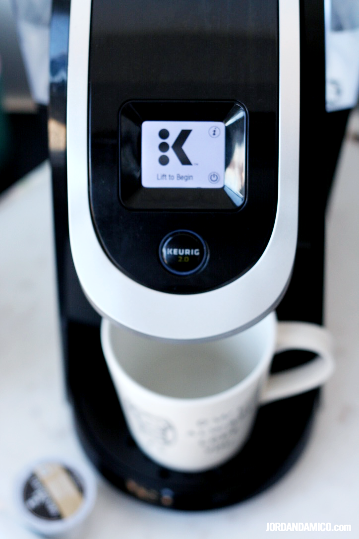 The simplicity of a Saturday morning with Keurig
