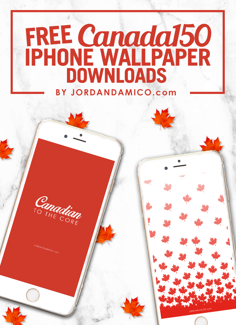 Free Canada150 iPhone Wallpaper Downloads