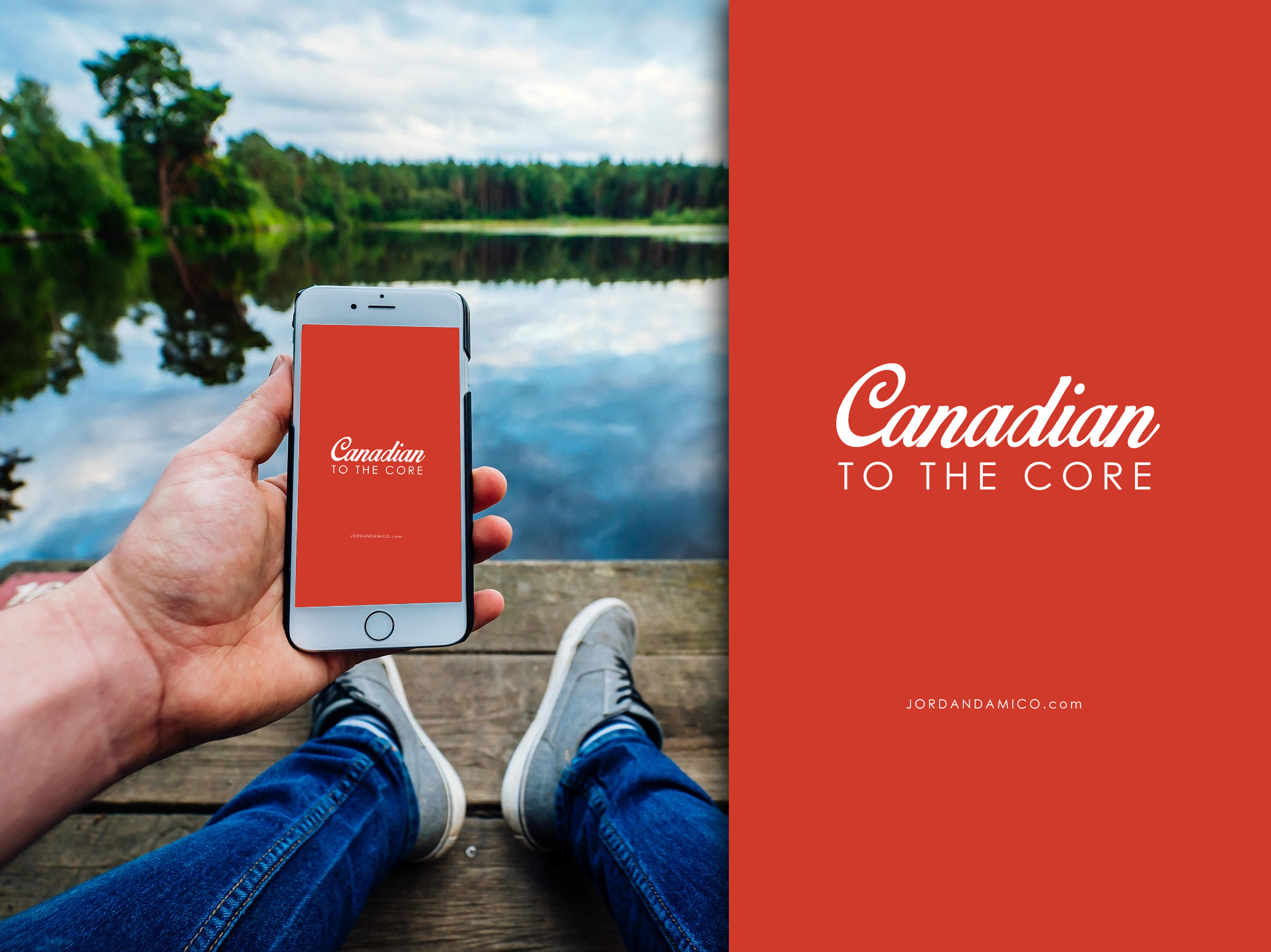 Free Canada150 iPhone wallpaper download