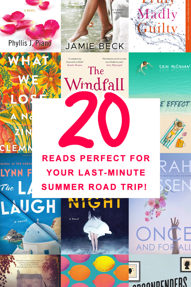 20 reads perfect for your last-minute summer road trip