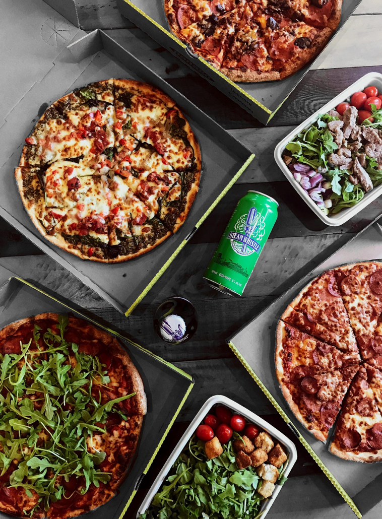 Delicious summer vibes with #PanagoXSteamWhistle and new craft-style pizzas